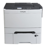 Lexmark CS410dtn Network Duplexer Color Laser Printer (28D0100)