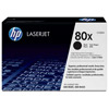 80X Black LaserJet Toner Ink for LaserJet Pro 400 Series