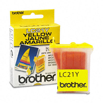 LC21Y Ink, 450 Page-Yield, Yellow
