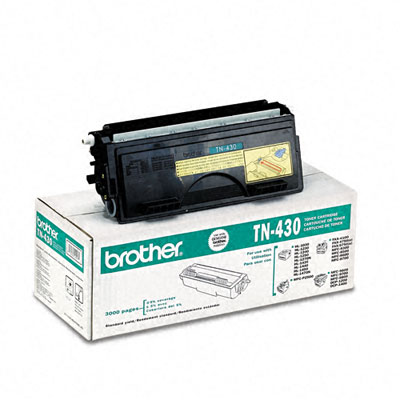 TN430 Toner, 3000 Page-Yield, Black