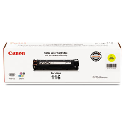 1977B001 (116) Toner, 1,500 Page-Yield, Yellow