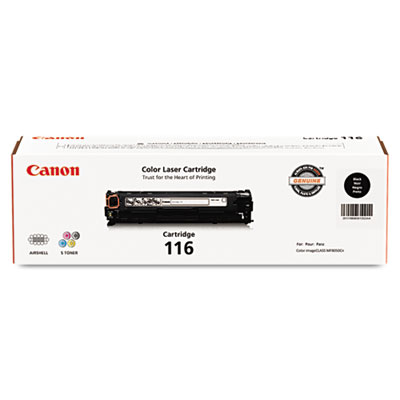 1980B001 (116) Toner, 2,300 Page-Yield, Black