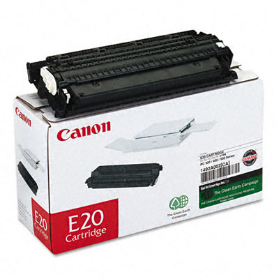 E20 (E-20) Toner, 2000 Page-Yield, Black