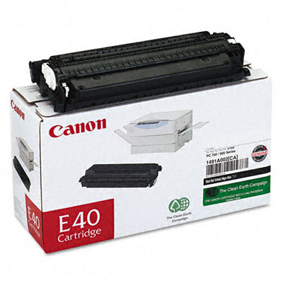 E40 (E-40) Toner, 4000 Page-Yield, Black