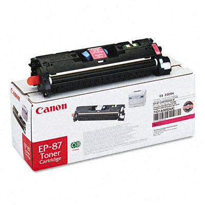 EP87M (EP-87) Toner, 4,000 Page-Yield, Magenta
