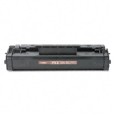 FX3 (FX-3) Toner, 2700 Page-Yield, Black