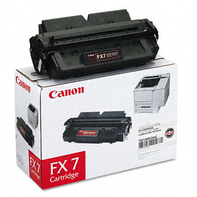 FX7 (FX-7) Toner, 4500 Page-Yield, Black