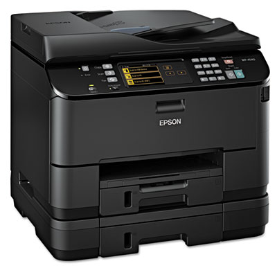 WorkForce Pro WP-4540 Wireless All-in-One Inkjet Printer, Copy/Fax/Print/Scan
