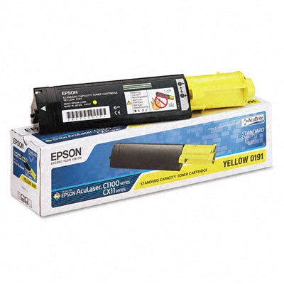 S050191 Toner, 1500 Page-Yield, Yellow