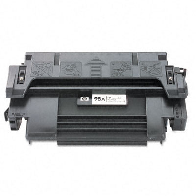 92298A (HP 98A) Toner, 6800 Page-Yield, Black