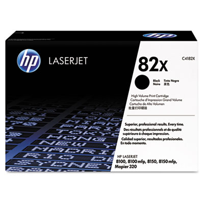 C4182XG (HP 82X) High-Yield Government Smart Toner, 20000 Page-Yield, Black