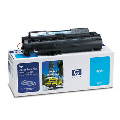C4192A Toner, 6000 Page-Yield, Cyan