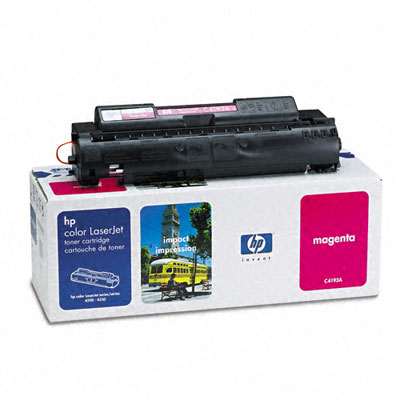 C4193A Toner, 6000 Page-Yield, Magenta