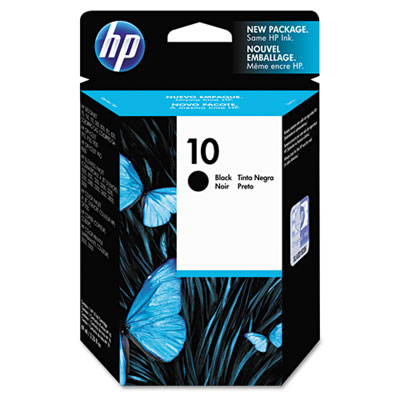 C4844A (HP 10) Ink, 1,750 Page-Yield, Black