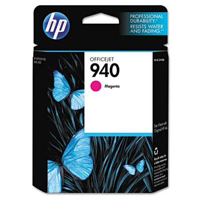 C4904AN (HP 940) Ink, 900 Page-Yield, Magenta