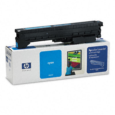 C8551A Toner, 25000 Page-Yield, Cyan