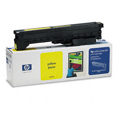 C8552A Toner, 25000 Page-Yield, Yellow