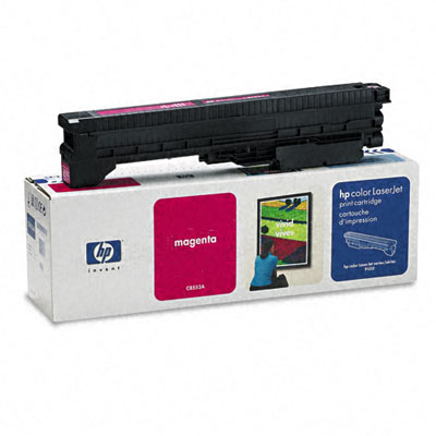 C8553A Toner, 25000 Page-Yield, Magenta