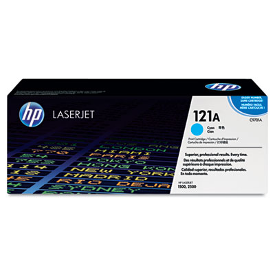 C9701A Toner, 4000 Page-Yield, Cyan