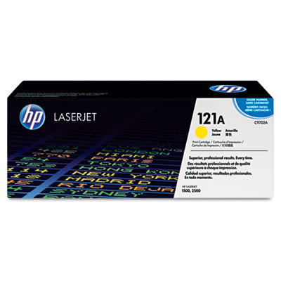 C9702A Toner, 4000 Page-Yield, Yellow