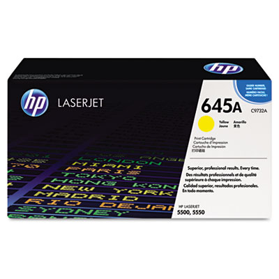 C9732A (HP 32A) Toner, 12000 Page-Yield, Yellow
