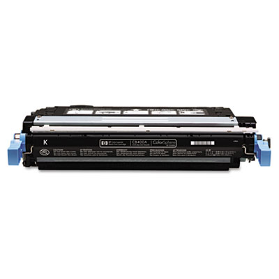 CB400A Toner, 7500 Page-Yield, Black