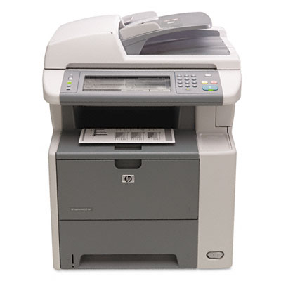 LaserJet M3035 MFP Printer w/Copy, Scan, Network & Auto Duplex