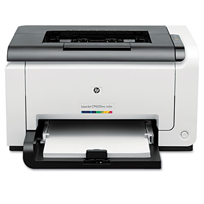 Color LaserJet Pro CP1025NW Wireless Laser Printer