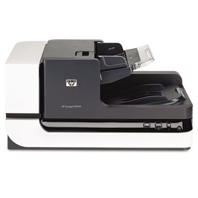 Scanjet N9120 Document Flatbed Scanner, 600 x 600 dpi, Black/Silver