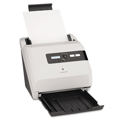 Scanjet 5000 Sheet-Feed Scanner, 600 dpi, White