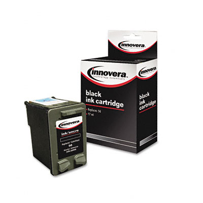 20056 Compatible Remanufactured Ink, 520 Page-Yield, Black