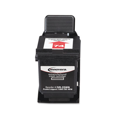 35WN Compatible Remanufactured Ink, 200 Page-Yield, Black