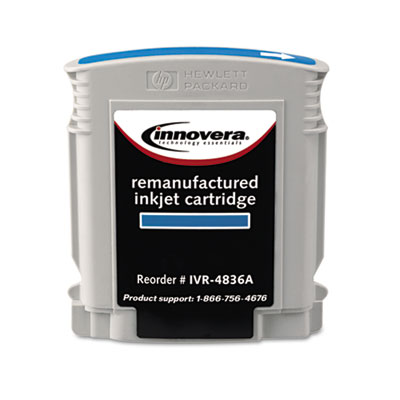 4836A Compatible Remanufactured Ink, 2350 Page-Yield, Cyan
