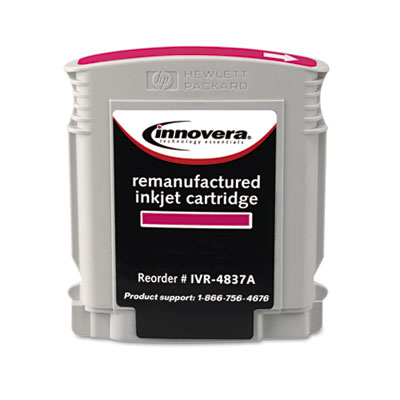 4837A Compatible Remanufactured Ink, 2000 Page-Yield, Magenta