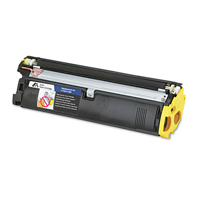 587005 Compatible Remanufactured Toner, 4500 Page-Yield, Yellow