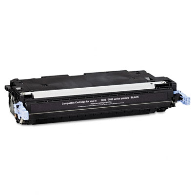 6470A Compatible Remanufactured Toner, 6000 Page-Yield, Black