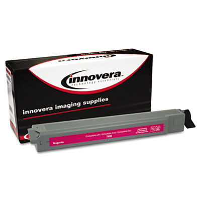 7400M Compatible High-Yield Toner, 18,000 Page Yield, Magenta