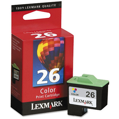 10N0026 Ink, 290 Page-Yield, Tri-Color