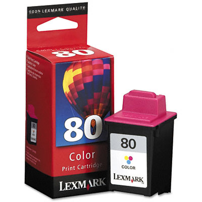 12A1980 Ink, 275 Page-Yield, Tri-Color