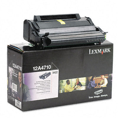 12A4710 Toner, 6000 Page-Yield, Black