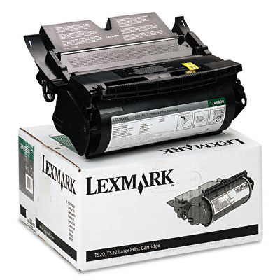 12A6830 High-Yield Toner, 7500 Page-Yield, Black