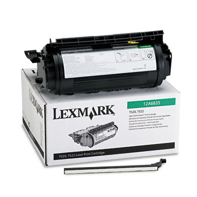 12A6835 High-Yield Toner, 20000 Page-Yield, Black