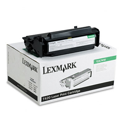 12A7410 Toner, 5000 Page-Yield, Black