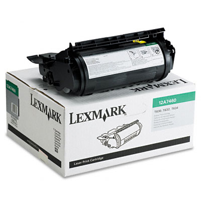 12A7460 Toner, 5000 Page-Yield, Black