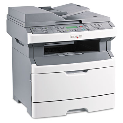 X264dn Multifunction Laser Printer w/Networking, Duplexing & Faxing