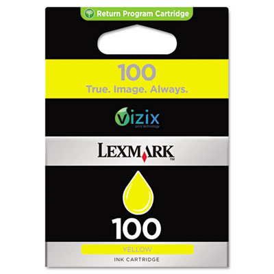 14N0902 (100) Ink, 200 Page-Yield, Yellow