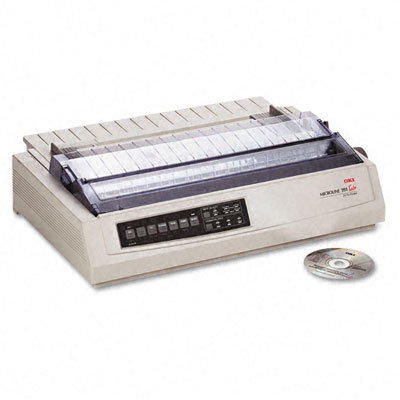 Microline 391 24-Pin Dot Matrix Turbo Printer
