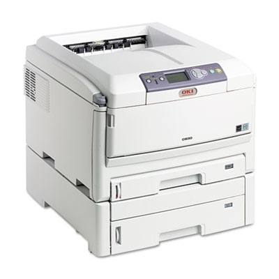 C830DTN Wide-Format Color Printer