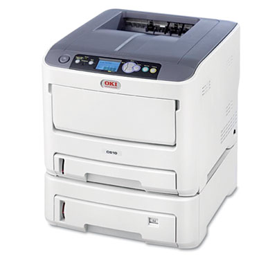C610dtn Laser Printer, Network-Ready, Duplex Printing