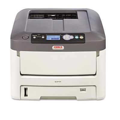 C711dtn Laser Printer, Network-Ready, Duplex Printing